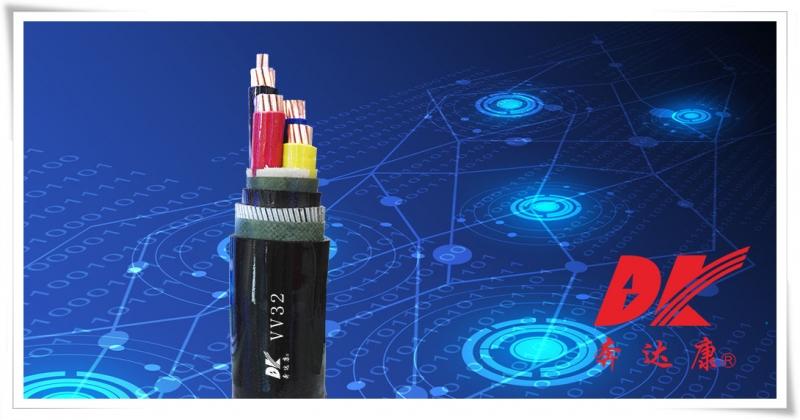 额定电压0.6/1kV聚氯乙烯绝缘钢丝铠装聚氯乙烯护套电力电缆