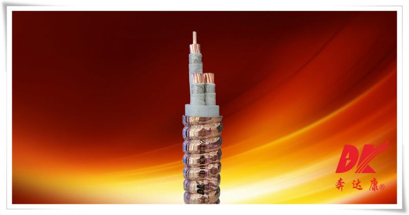 额定电缆1kV无机矿物绝缘联锁铜护套柔性防火电缆