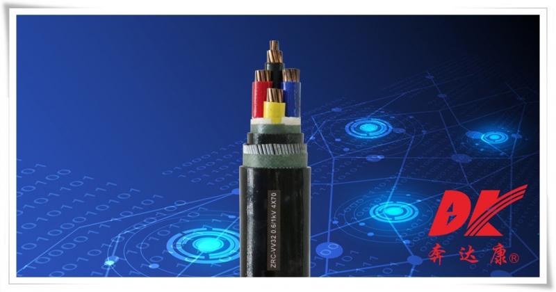 阻燃型聚氯乙烯绝缘钢丝铠装聚氯乙烯护套电力电缆
