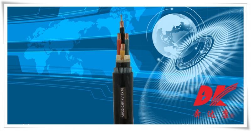 额定电压0.6/1kV交联聚乙烯绝缘电力电缆(YJV-32)