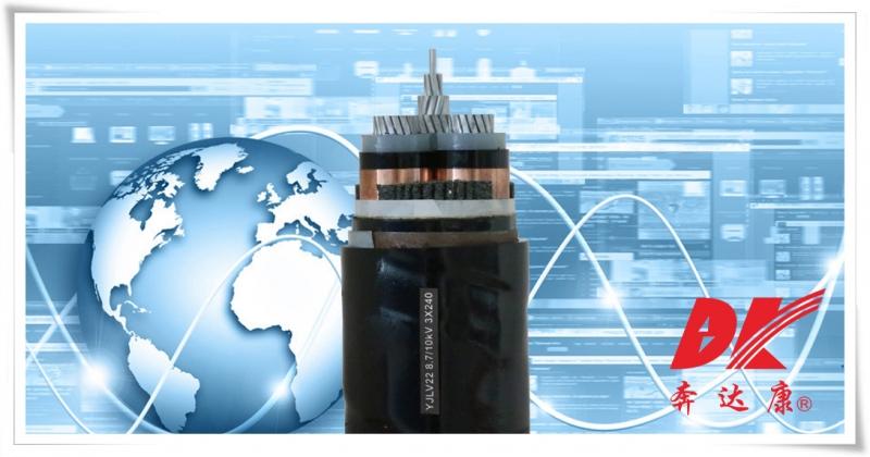 阻燃型额定电压6kV到35kV交联聚乙烯绝缘电力电缆(YJLV22)